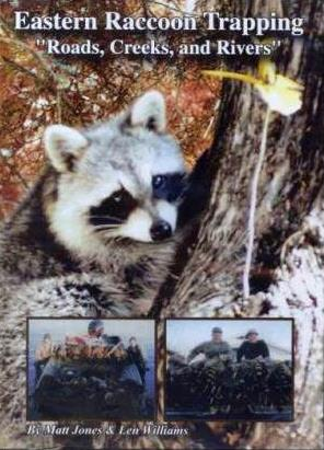 Eastern Raccoon Trapping – Roads, Creeks & Rivers  DVD #9238214